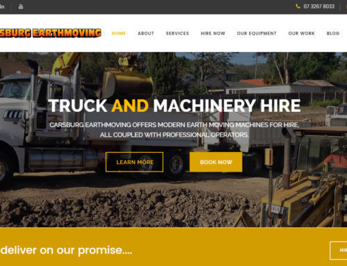 Earthmoving Website
